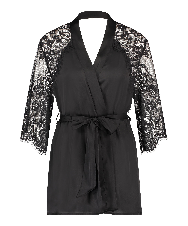 Kimono Jennifer, Zwart, main