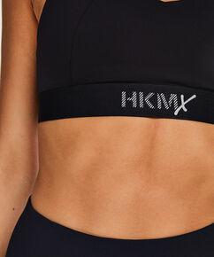HKMX sport bh The Yoga Crop level 2, Zwart