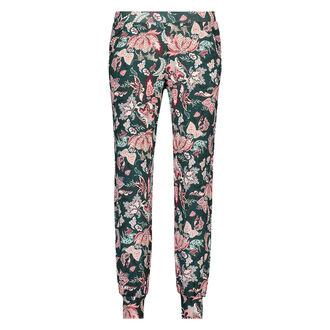 Pyjamabroek Jersey loose fit, Groen