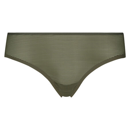 Invisible Brazilian Burned Out Stripe, Groen