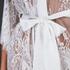 Kimono Lace Isabelle, Wit