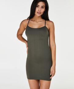 Naadloze jurk, Groen