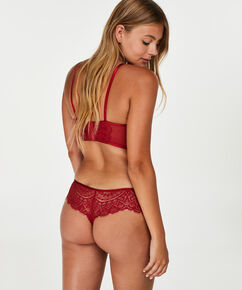 Boxer string Nofee, Rood