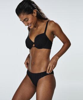 Voorgevormde beugel bikinitop Borneo Mesh, Zwart