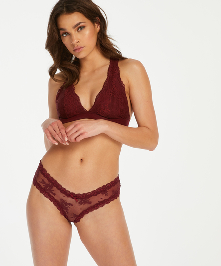 Bralette Alexis, Rood