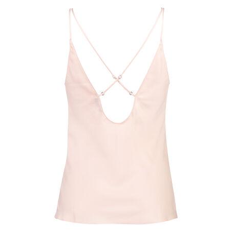 Top Satin Lace, Roze