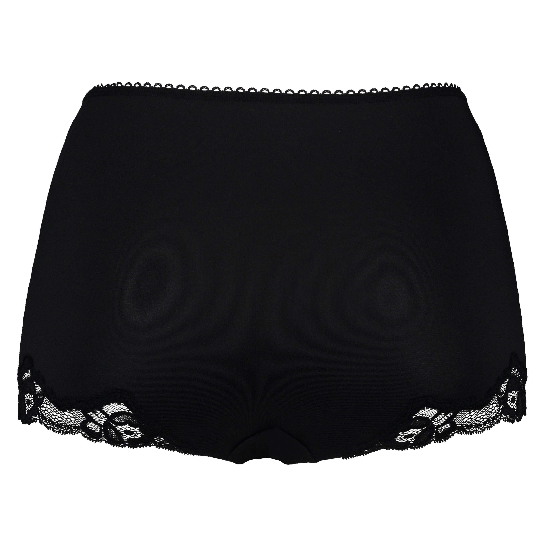Maxi slip rio Secret lace, Zwart, main