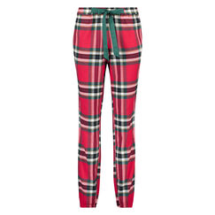 Pyjamabroek Check, Rood