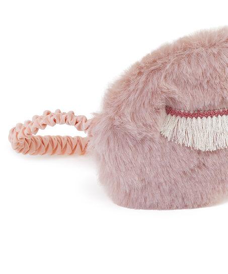 Slaapmasker Fluffy, Paars