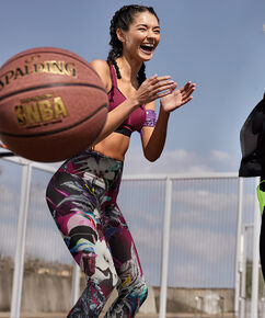 HKMX High waisted sport legging level 2, Paars