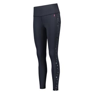 HKMX high waist sport legging Star, Zwart
