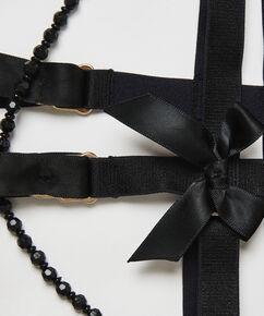 Private Jarretel Cuffs, Zwart