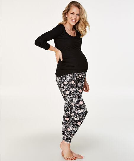 Zwangerschapslegging Jersey, Grijs