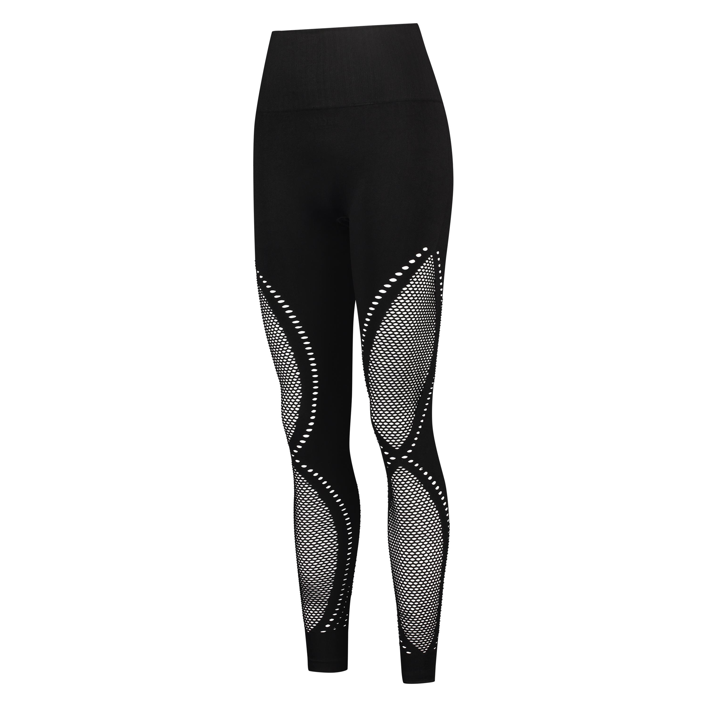 HKMX High waist naadloze sportlegging Comfort, Zwart, main