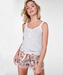 Image of Hunkemöller Pyjama short Jersey lace Roze