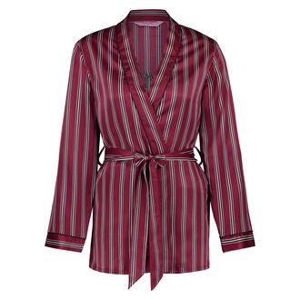 Pyjama jasje Satin, Rood
