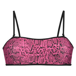 Bandeau bikinitop Haze, Roze