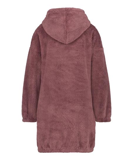 Snuggle Fleece Jurk Oodie, Roze