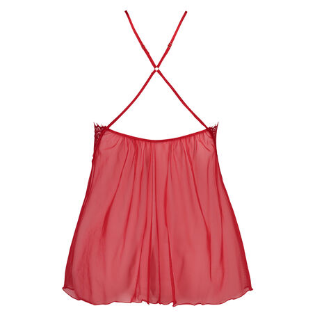 Babydoll Lace, Rood