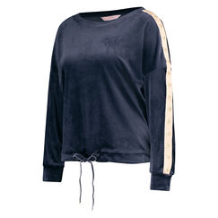 Top Velours Ster, Blauw