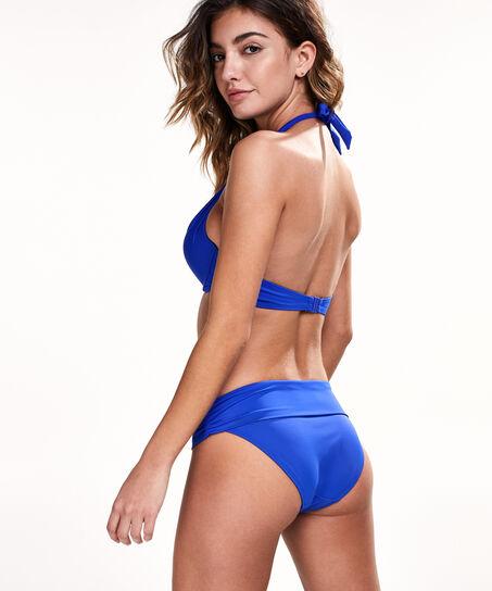 Voorgevormde push-up bikinitop Boho Chic, Blauw