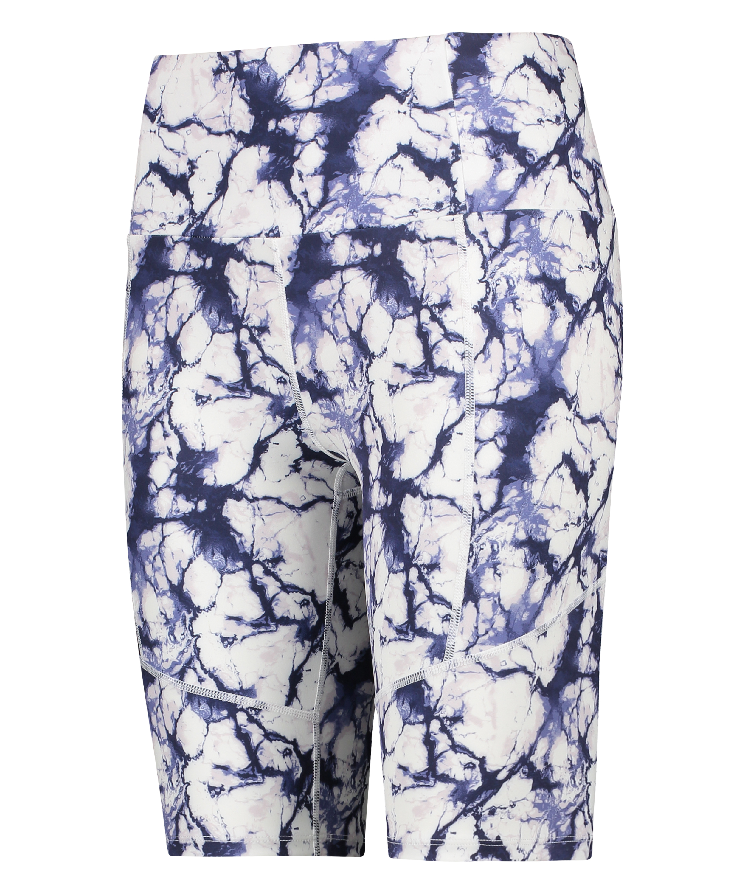 HKMX Cycling short Marble, Wit, main