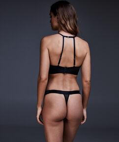 Regular string Tomei, Zwart