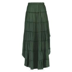 Rok lace edge, Groen