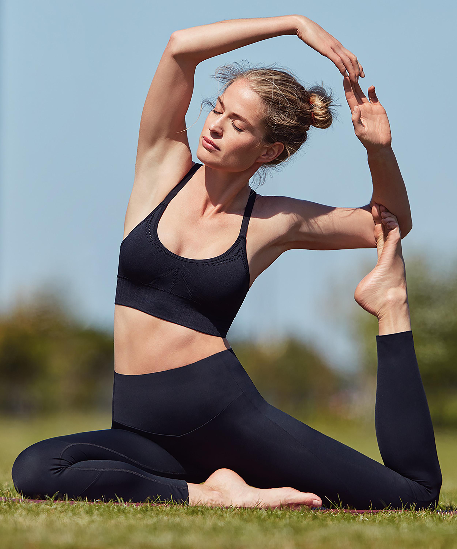 HKMX Make Me Zen High Waisted Legging, Zwart, main