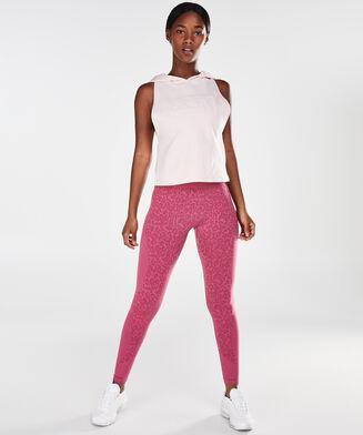 HKMX high waist sport legging level 3 Leopard, Roze