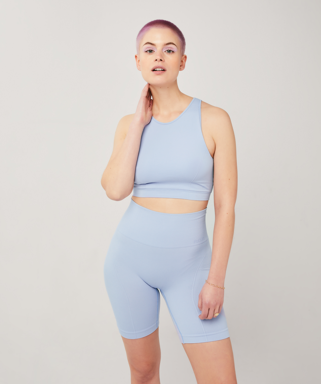 Cycling shorts Bae, Blauw, main