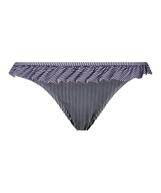 Rio bikinibroekje Ruffle Stripe, Blauw