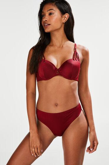 Hunkemöller Rio bikinibroekje Cinammon Rood