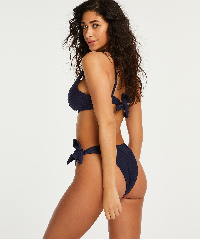 Niet-voorgevormde beugel bikinitop Harper, Blauw, main