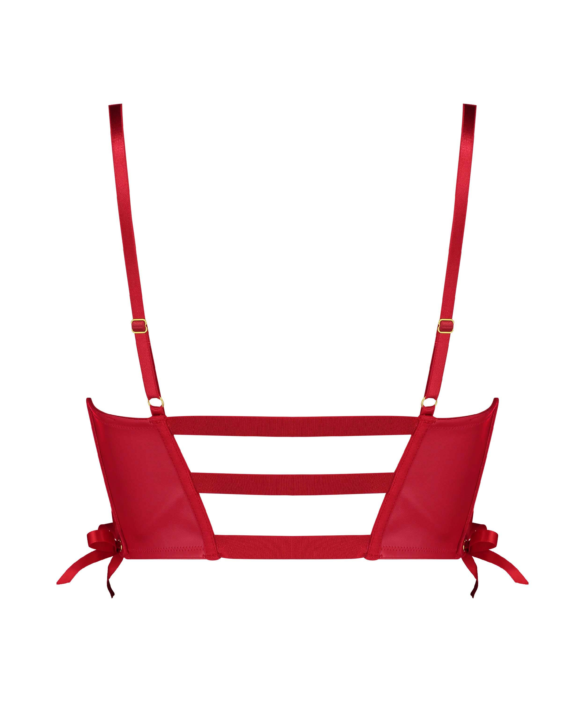 Voorgevormde push-up beugel bh Manu, Rood, main
