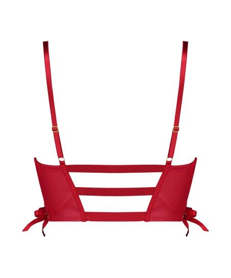 Voorgevormde push-up beugel bh Manu, Rood