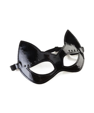 Oogmasker Private, Zwart