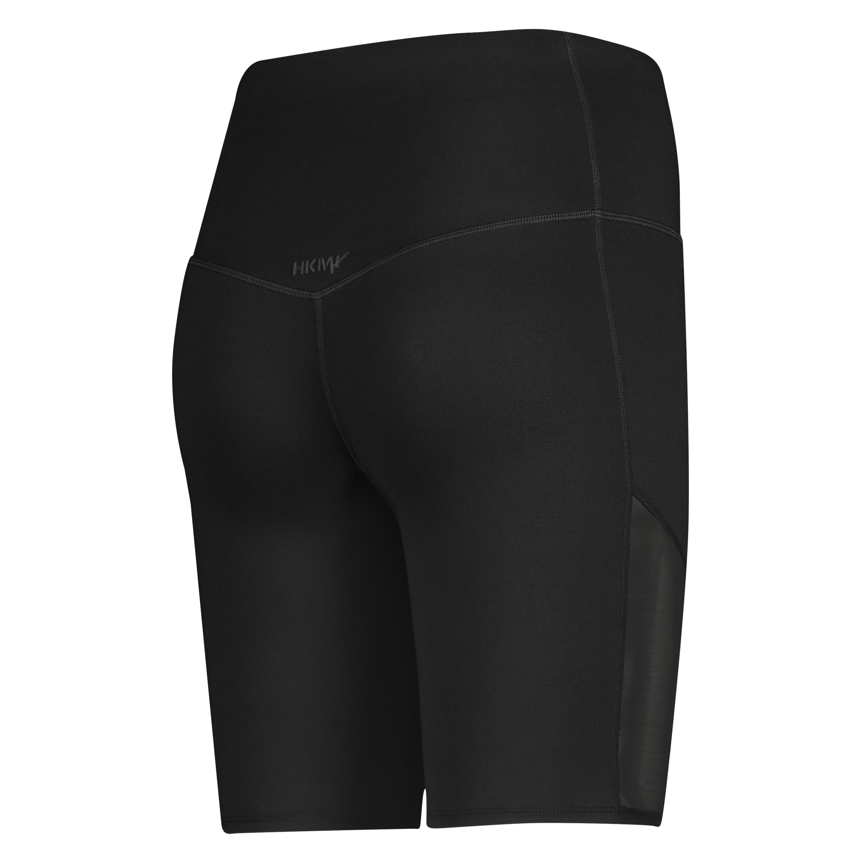 HKMX high waisted bike shorts level 3, Zwart, main