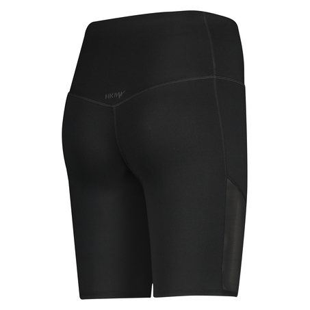HKMX high waisted bike shorts level 3, Zwart