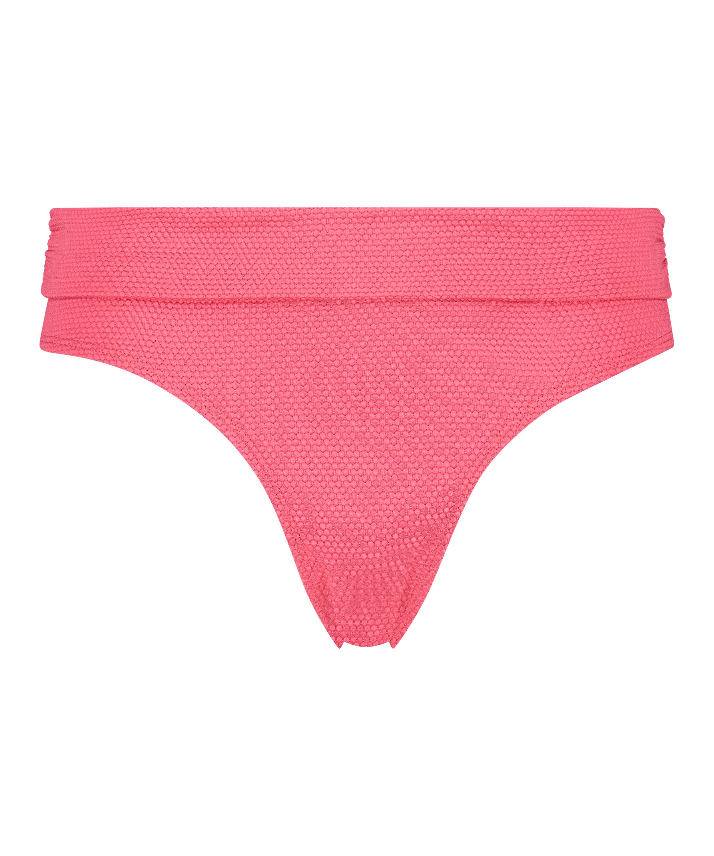 Hoog bikinibroekje Ruffle Dreams, Roze, main