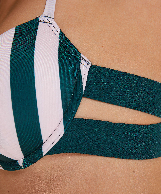 Voorgevormde beugel bikinitop Santa Rosa, Groen, main
