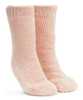 Anti-slip sokken Chenille, Roze