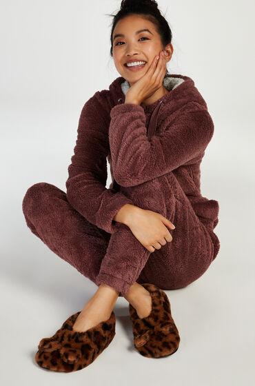 Hunkemöller Leopard Ballerina Bruin