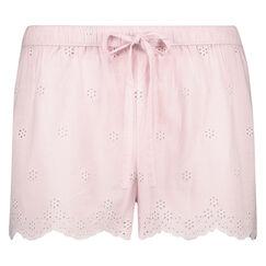 Pyjama short Woven, Roze