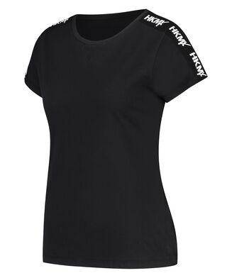 HKMX Sportshirt met korte mouwen Boyfriend, Zwart