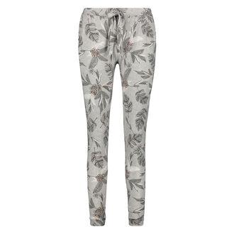 Pyjamabroek Jersey loose fit, Grijs