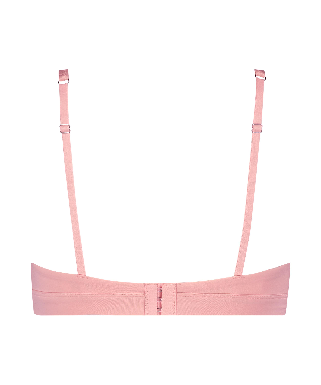 Niet-voorgevormde bh zonder beugel Soft, Roze, main