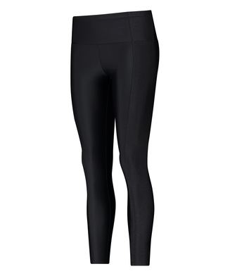 HKMX High waisted sport legging Shine On, Zwart
