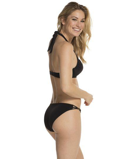 Push-up bikinitop Flow, Zwart