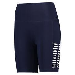 HKMX high waisted bike shorts, Blauw